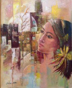 Ambreen_Saba_Eastren&Westren_19X23_Acrylic