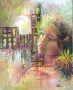 Imaginary acrylic painting on canvas03