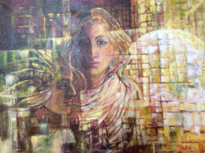 Imaginary acrylic painting on canvas04